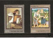 FINLAND # 572-3 Art Europa MNH