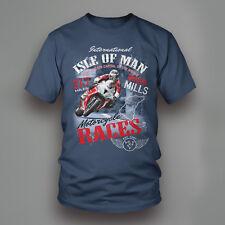 2016 Isle of Man TT Union Mills Motorcycle T-Shirt