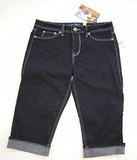 Womens cropped capri stretch denim jeans Fade to Blue label $42.00 price tag NWT