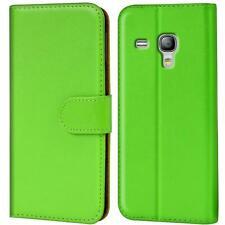 Book Case Samsung Galaxy S3 Mini Hülle Tasche Flip Cover Handy Schutz Etui Grün