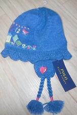 Hat Ralph Lauren girl winter embroidered 2-3-4 y BNWT
