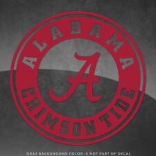 "Alabama Crimson Tide Bama Vinyl Decal Sticker - 4"" and Larger - 30+ Colors!"
