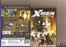 X MEN LEGENDS 2 RISE OF APOCALYPSE PLAYSTATION 2 PS 2
