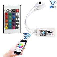 Mini WiFi RGB/RGBW Controller MIC Music Control for 5050 LED Strip light DC9-12V