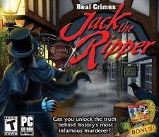 Real Crimes: Jack the Ripper, New Windows XP, Windows Vista, Windo Video Games