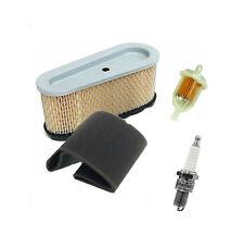 Luftfilter + Vorfilter + Zündkerze + Benzinfilter für Briggs Stratton 8,5-16,5PS