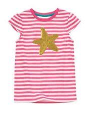 NWT Gymboree Pink Stripe Sequin Starfish Tee Shirt  MERMAID PARTY 4 5 6 7 8