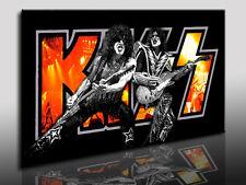 KISS XXL Bild - Kunstdrucke, Leinwandbilder, Pop Art Bilder, Bands - Musik Stars