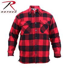 Rothco Extra Heavyweight Buffalo Plaid Sherpa-lined Flannel Shirts 4 color #3739