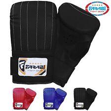Farabi Boxing Bag Mitt MMA Muay thai kickboxing fitness training gym punching