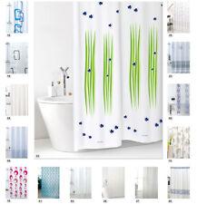 Tende doccia ANTIMUFFA vinile impermeabile 3 misure anelli inclusi tendina bagno