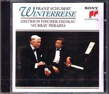 FISCHER-DIESKAU & PERAHIA: SCHUBERT Winterreise SONY CD Dietrich Murray