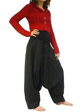 SAROUEL Femme (du 36 au 50) Coton Grande Taille élastique pantalon SA11