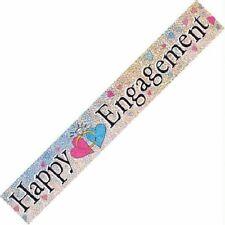 Engagement Banners Congratulations Celebrate Party Decorations