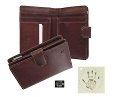 Tony Perotti Full Grain Leather Purse With Tab Closure - RFID Protected 1009_1
