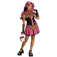 Girls Bratz Little RED RIDING HOOD Costume Child Small 4 6 Cheetah Fairy Tale
