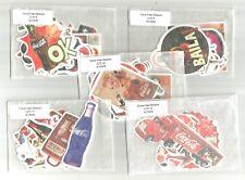 10 Coca Cola Stickers-- (Choice) Lot 8-12