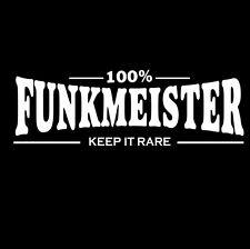 FUNK t-shirt gilet Funkmeister SOUL RARE rainure James marron Funkadelic DISCO