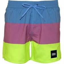 O'Neill Vert horizon Block strepen heren zwembroek, blauw/roze