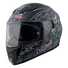 LS2 FF320 Full Face Motorcycle Helmet Anti-Hero Graphic