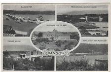 Bangor - Multiview Photo Postcard c1920