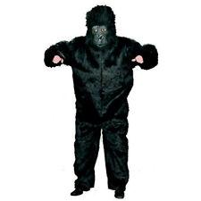 plüschoverall Scimmia Costume gorilla king kong Nero da animale