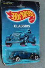 Hot Wheels Classics Classic Caddy blue toy car vintage 1988
