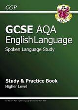 GCSE English AQA Spoken Language Study & Practice Book... by CGP Books Paperback