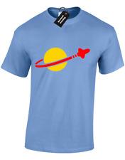 Spaceman Lego para hombre Camiseta Gracioso Astronauta Ninjago Ventilador Diseño Retro Clásico