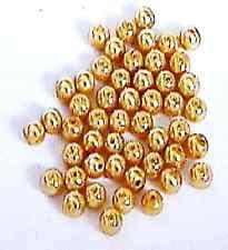 Tonos de marrón dorado 4mm Redondo Perlas de 50 piezas de vidrio fabricación de joyas Artesanías