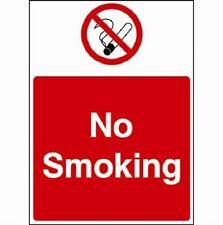 No Fumar señales de advertencia, pegatinas / Adhesivo, Impermeable, Rígidas De Pvc, libre de envío