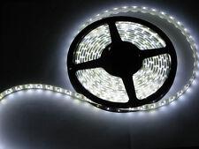 LED Streifen 5 Meter Strip weiß warmweiß selbstklebend flexibel 12V Beleuchtung