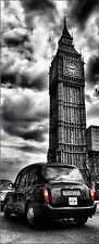 poster porta decocrazione inganna l'occhio Taxi Londra ref 743 - 4 dimensioni