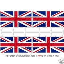 Union Jack Britische Flagge Fahne UK 50mm Sticker Auto Aufkleber x4