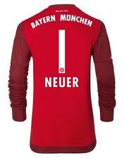 Trikot Adidas FC Bayern München 2015-2016 Away Torwart - Neuer [164 bis 3XL] FCB