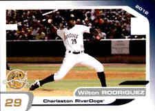2012 Charleston RiverDogs Grandstand 29 Wilton Rodriguez Dominican Republic Card