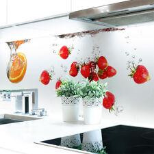 Küchenrückwand Obst Wasser Premium Hart-PVC 0,4 mm selbstklebend