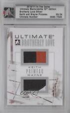 2010 In the Game Ultimate Memorabilia 10th Edition KPWP Keith Primeau Wayne Card