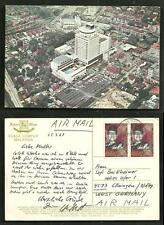 Kuala Lumpur Federal Hotel Malaysia 2 stamps 1969