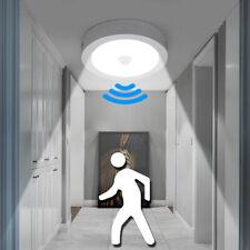 12W 18W PIR Motion Sensor Round LED Ceiling Light Flush Mount Garage Wall Lamp