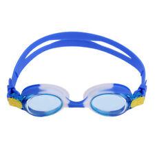 Lunettes de natation anti-UV anti-UV imperméables de silicone de sports