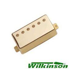 New Guitar Parts Ceramic Wilkinson Humbuckers - Gold
