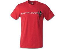 Corvette C7 Stingray Chest Logo T-Shirt Red