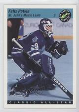1993-94 Classic Pro Hockey Prospects #80 Felix Potvin Toronto Maple Leafs Card