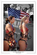 KERRI WALSH & MISTY MAY BEACH VOLLEYBALL AUTOGRAPH SIGNED PHOTO PRINT OLYMPICS