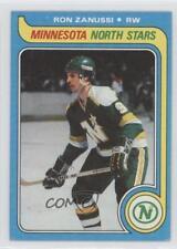 1979-80 Topps #22 Ron Zanussi Minnesota North Stars Hockey Card