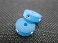 1 Polaris Spacer rund 10x3mm türkis Perlen 6910