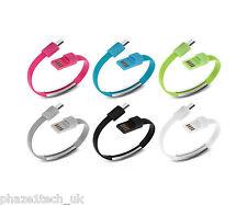 Bracelet Micro USB Cable   Multiple Colours Available