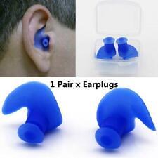 Mounchain 1 Pair Soft Ear Plugs Environmental Silicone Waterproof Dust-Proof Ear