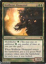 MTG - Worldwake - Wolfbriar Elemental - Foil - EX